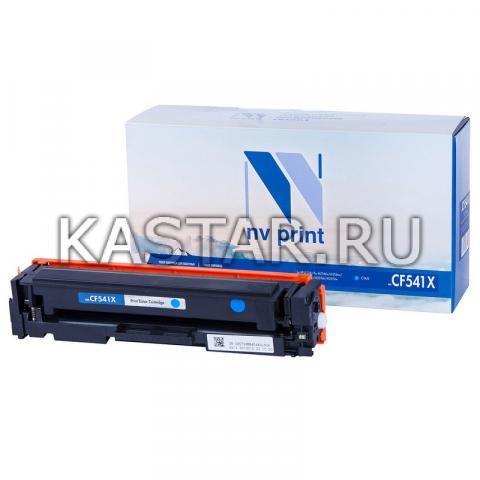 Картридж NVP совместимый NV-CF541X Cyan для HP Color LaserJet Pro M254dw | M254nw | MFP M280nw | M281fdn | M281fdw Голубой (Cyan) 2500стр.