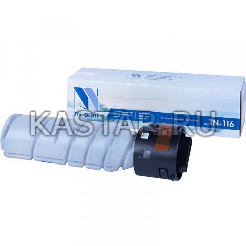 Тонер-картридж NVP совместимый NV-TN-116 для Konica Minolta 164 | 165 | 185 Черный (Black) 9000стр.