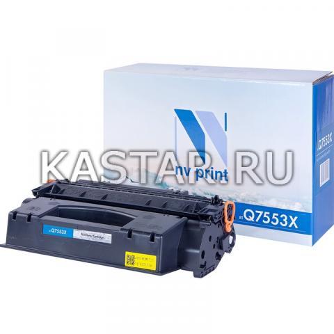 Картридж NVP совместимый NV-Q7553X для HP LaserJet P2014 | P2015 | P2015dn | P2015n | P2015x | M2727nf | M2727nfs Черный (Black) 7000стр.