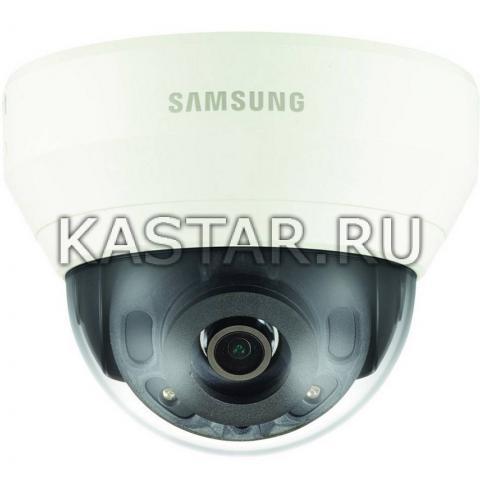 Ударопрочная 4Мп камера Wisenet Samsung QND-7020RP с ИК-подсветкой