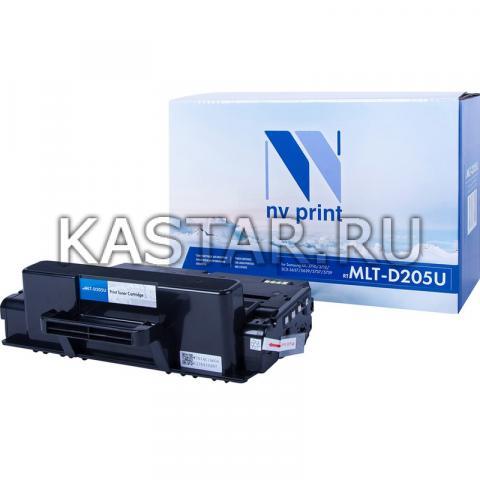 Картридж NVP совместимый NV-MLT-D205U для Samsung ML-3710 | 3712 | SCX-5637 | 5639 | 5737 | 5739 Черный (Black) 15000стр.