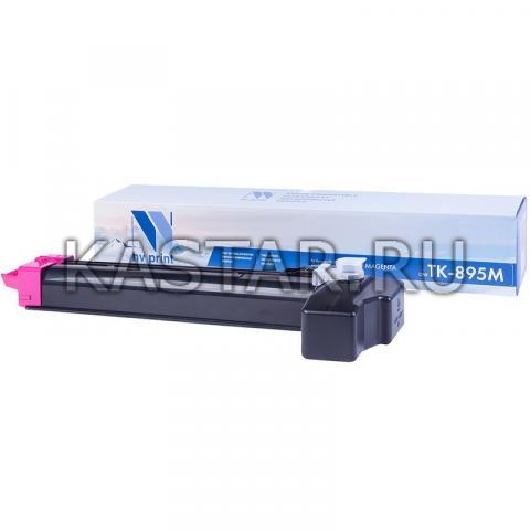 Картридж NVP совместимый NV-TK-895 Magenta для Kyocera FS-C8020MFP | C8025MFP | C8520MFP | C8525MFP Пурпурный (Magenta) 6000стр.