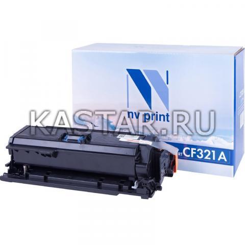 Картридж NVP совместимый NV-CF321A Cyan для HP LaserJet Color M680dn | M680f | M680z Голубой (Cyan) 16500стр.