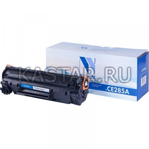 Картридж NVP совместимый NV-CE285A для HP LaserJe Pro P1102 | P1102w | M1132 | M1212nf | М1217 Черный (Black) 1600стр.