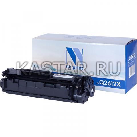 Картридж NVP совместимый NV-Q2612X для HP LaserJet M1005 | 1010 | 1012 | 1015 | 1020 | 1022 | M1319f | 3015 | 3020 | 3030 | 3050 | 3050z Черный (Black) 3000стр.
