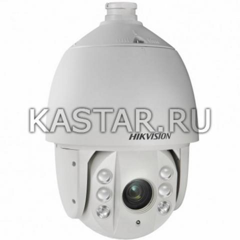 Сетевая PTZ-камера для улицы Hikvision DS-2DE7420IW-AE с оптикой x20, аппаратной аналитикой, ИК-подсветкой до 150 м