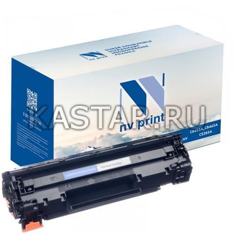 Картридж NVP совместимый NV-CB435A | CB436A | CE285A для HP LaserJet P1005 | P1006 | M1120 | M1120n | P1505 | P1505n | M1522n | M1522nf | P1102 | P1102W | M1132 | M1212 | M1212nf | M1214nfh | M1217nfw Черный (Black) 2000стр.