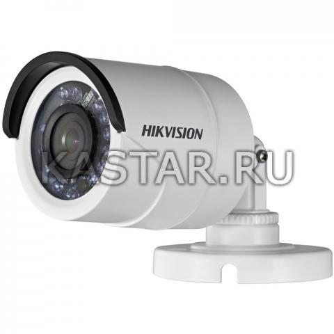 Уличная HD-TVI камера видеонаблюдения HikVision DS-2CE16C2T-IR с ИК-подсветкой