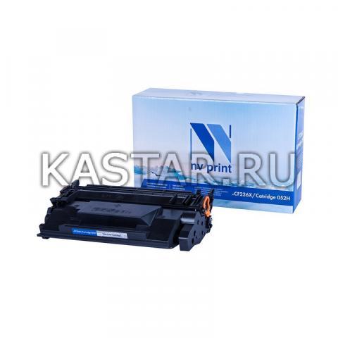 Картридж NVP совместимый NV-CF226X | NV-052H для HP  LaserJet Pro M402d | M402dn | M402dne | M402dw | M402n | M426dw | M426fdn | M426fdw | i-SENSYS LBP212dw | LBP214dw | LBP215x | MF421dw | MF426dw | MF42 Черный (Black) 9200стр.