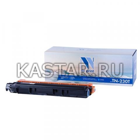 Картридж NVP совместимый NV-TN-230T Cyan для Brother HL-3040CN | 3070CW | DCP-9010CN | MFC-9120CN | 9320DW Голубой (Cyan) 1400стр.