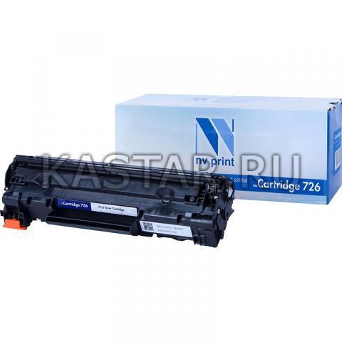 Картридж NVP совместимый NV-726 для Canon  i-SENSYS LBP6200d Черный (Black) 2100стр.