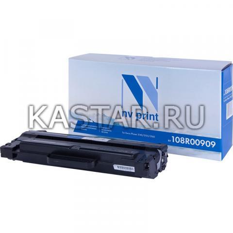 Картридж NVP совместимый NV-108R00909 для Xerox 3140 | 3155 | 3160 Черный (Black) 2500стр.