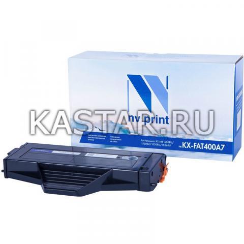 Картридж NVP совместимый NV-KX-FAT400A7 для Panasonic KX-MB1500RU   1520RU   1530RU   1536RU Черный (Black) 1800стр.