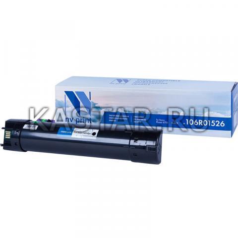 Картридж NVP совместимый NV-106R01526 Black для Xerox Phaser 6700 Черный (Black) 18000стр.