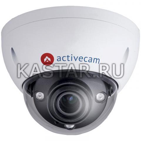 Купол Купольная 4K IP-камера ActiveCam AC-D3183WDZIR5 с motor-zoom и Smart-аналитикой