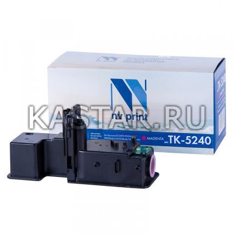 Картридж NVP совместимый NV-TK-5240 Magenta для Kyocera ECOSYS P5026cdn | P5026cdw | M5526cdn | M5526cdw Пурпурный (Magenta) 3000стр.