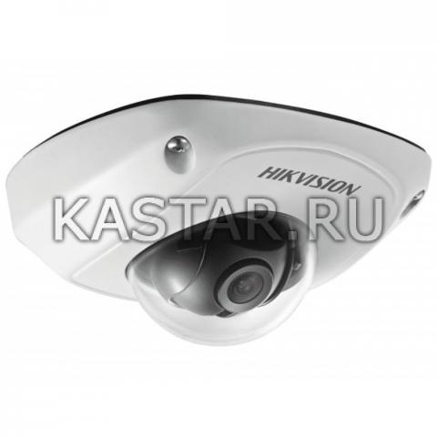 Аналоговая камера для транспорта Hikvision AE-VC011P-IRS (6 мм) с ИК-подсветкой 20 м