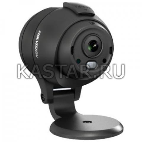 Аналоговая камера для транспорта Hikvision AE-VC061P-ITS (2.1 мм) с ИК-подсветкой 3 м
