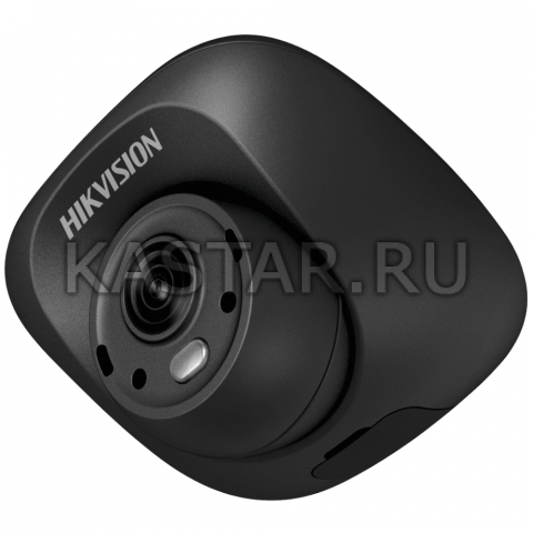 Аналоговая камера для транспорта Hikvision AE-VC012P-ITS (2.1 мм) с ИК-подсветкой 3 м