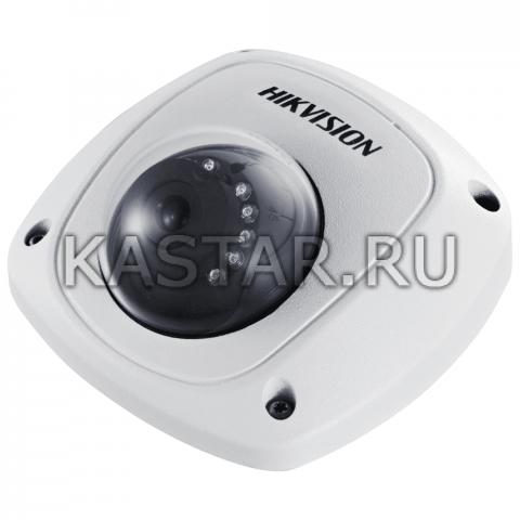 2 Мп TVI-камера для транспорта Hikvision AE-VC211T-IRS (3.6 мм) с ИК-подсветкой 10–20 м