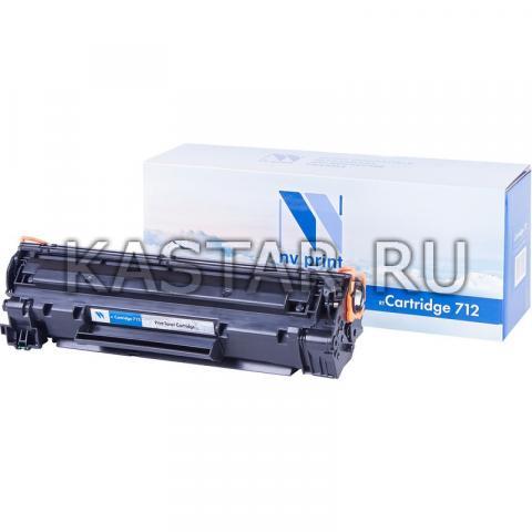 Картридж NVP совместимый NV-712 для Canon i-SENSYS LBP3010 | 3010B | 3100 Черный (Black) 1500стр.