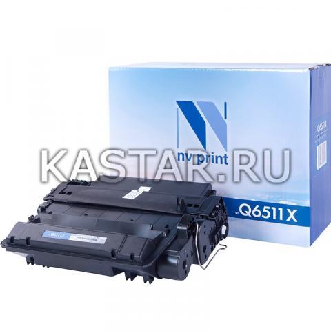 Картридж NVP совместимый NV-Q6511X для HP LaserJet 2410 | 2420 | 2420d | 2420dn | 2420n | 2430dtn | 2430t | 2430tn Черный (Black) 12000стр.