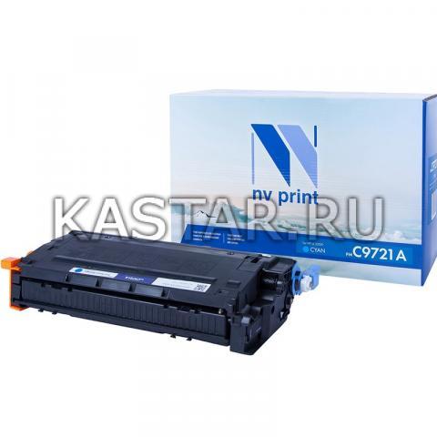 Картридж NVP совместимый NV-C9721A Cyan для HP LaserJet Color 4600 | 4600dtn | 4600hdn | 4600n | 4650 | 4650n | 4650dn | 4650dtn | 4650hdn | 4600dn Голубой (Cyan) 8000стр.