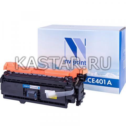Картридж NVP совместимый NV-CE401A Cyan для HP LaserJet Color M551n | M551xh | M551dn | M570dn | M570dw | M575dn | M575f | M575c Голубой (Cyan) 6000стр.