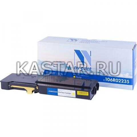 Картридж NVP совместимый NV-106R02235 Yellow для Xerox Phaser 6600 | WorkCentre 6605 Желтый (Yellow) 6000стр.