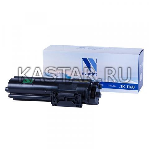 Картридж NVP совместимый NV-TK-1160 для Kyocera ECOSYS P2040DN | P2040DW Черный (Black) 7200стр.