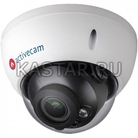 Купол Вандалостойкая 4Мп IP-камера ActiveCam AC-D3143ZIR3 с моторизированным объективом