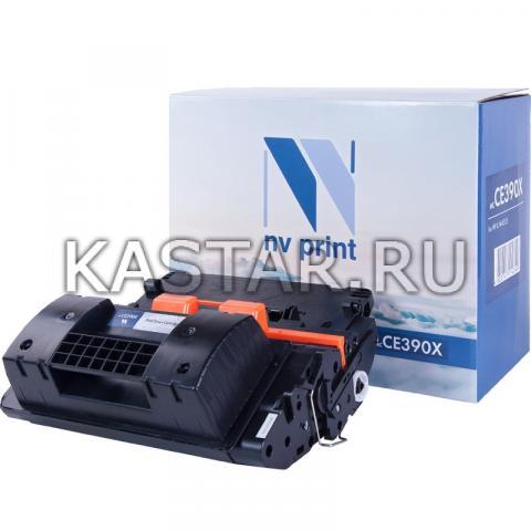 Картридж NVP совместимый NV-CE390X для HP LaserJet Enterprise 600 M602dn | M602n | M602x | M603dn | M603n | M603xh | M4555 | M4555f | M4555fskm | M4555h Черный (Black) 24000стр.