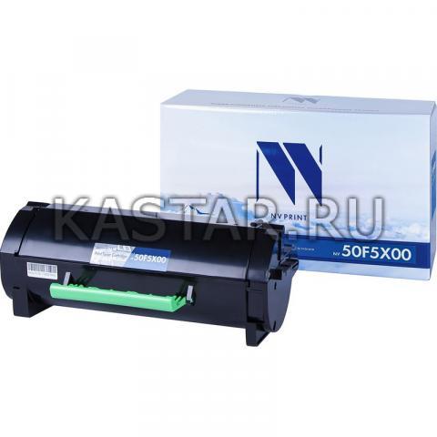 Картридж NVP совместимый NV-50F5X00 для Lexmark MS410d | MS410dn | MS415dn | MS510dn | MS610de | MS610dn | MS610dte Черный (Black) 10000стр.