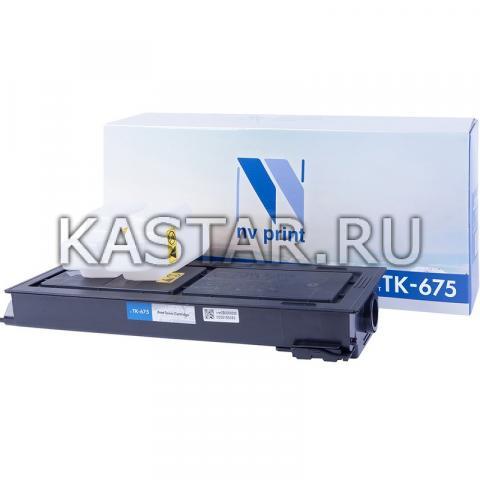 Картридж NVP совместимый NV-TK-675 для Kyocera KM-2540 | 2560 | 3040 | 3060 Черный (Black) 21000стр.