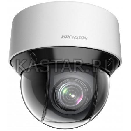 Компактный IP SpeedDome для улицы Hikvision DS-2DE4A220IW-DE с x20 оптикой, ИК-подсветкой и PoE+
