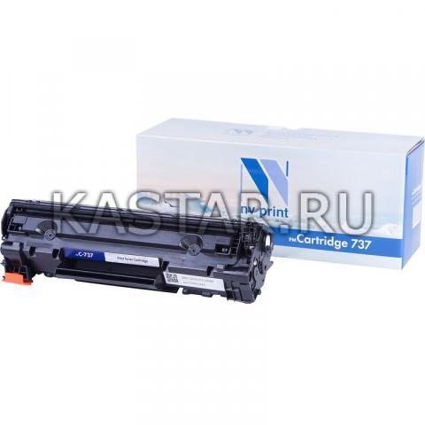 Картридж NVP совместимый NV-737 для Canon i-SENSYS MF211 | 212w | 216n | 217w | 226dn | MF229dw Черный (Black) 2400стр.