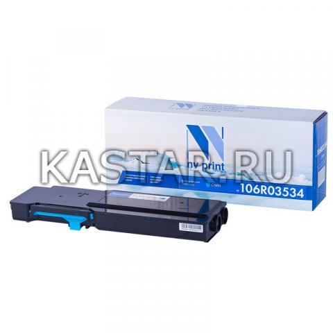 Картридж NVP совместимый NV-106R03534 Cyan для Xerox  VersaLink C400 | C405 Голубой (Cyan) 8000стр.