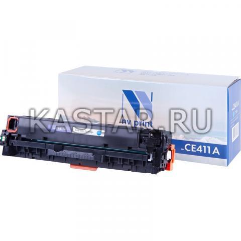 Картридж NVP совместимый NV-CE411A Cyan для HP LaserJet Color M351a | M375nw | M451dn | M451dw | M451nw | M475dn | M475dw Голубой (Cyan) 2600стр.