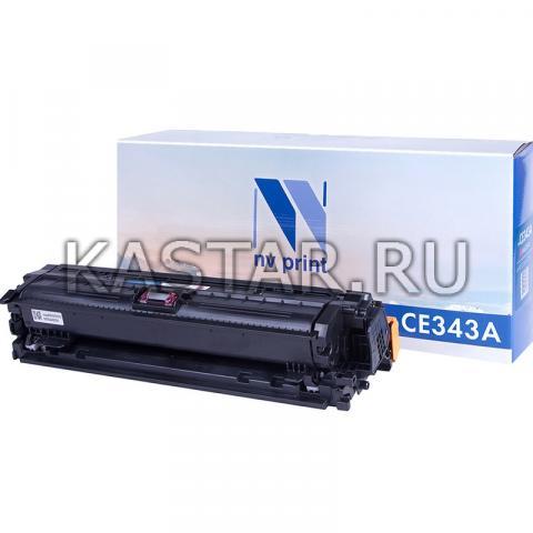 Картридж NVP совместимый NV-CE343A Magenta для HP LaserJet Color Enterprise 700 M775dn | M775f | M775z | M775z+ Пурпурный (Magenta) 16000стр.