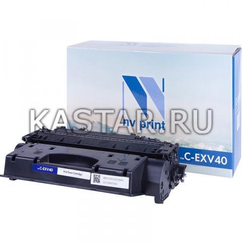 Тонер-туба NVР совместимый NV-C-EXV40 для Canon iR1133   iR1133A   iR1133IF Черный (Black) 6000стр.