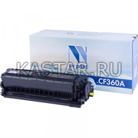 Картридж NVP совместимый NV-CF360A Black для HP LaserJet Color M552dn | M553dn | M553n | M553x | MFP-M577dn | M577f | Flow M577c Черный (Black) 6000стр.