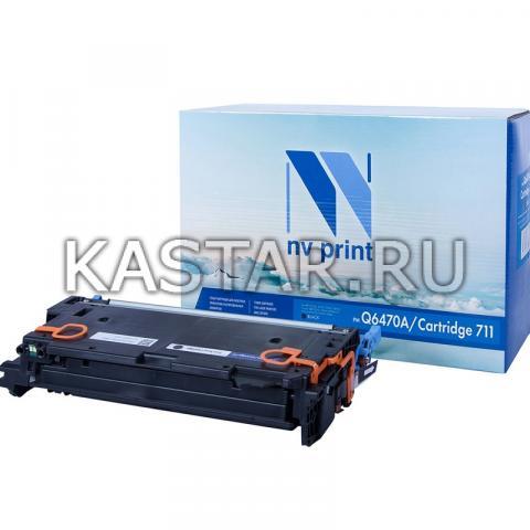 Картридж NVP совместимый NV-Q6470A | NV-711 Black для HP LaserJet Color 3505 | 3505x | 3505n | 3505dn | 3600 | 3600n | 3600dn | 3800 | 3800n | 3800dn | 3800dnt | Canon LBP-5300 | 5360 | MF-9130 | 9170 | 9220Cdn | 9280Cdn Черный (Black) 6000стр.