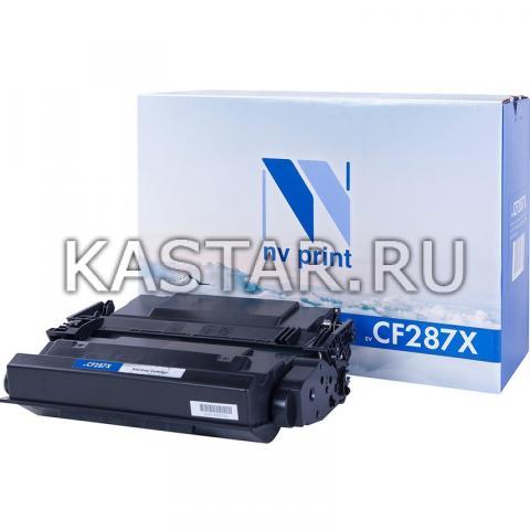 Картридж NVP совместимый NV-CF287X для HP LaserJet Pro M501n | Enterprise-M506dn | M506x | M527dn | M527f | M527c Черный (Black) 18000стр.