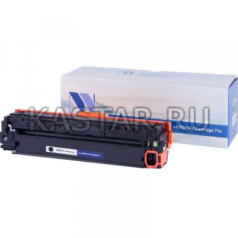 Картридж NVP совместимый NV-CB540A | NV-716 Black для HP LaserJet Color CP1215 | CM1312 | CM1312nfi | CP1215 | Canon i-SENSYS LBP5050 | LBP5050n | MF8030Cn | MF8040Cn | MF8050Cn | MF8080Cw Черный (Black) 2200стр.
