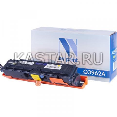 Картридж NVP совместимый NV-Q3962A Yellow для HP LaserJet Color 2820 | 2840 | 2550L | 2550Ln | 2550n | 3000 | 3000n | 3000dn | 3000dtn Желтый (Yellow) 4000стр.