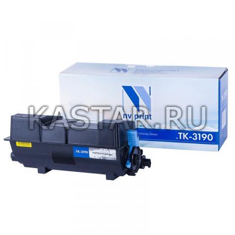 Картридж NVP совместимый NV-TK-3190 (БЕЗ ЧИПА) (БЕЗ ГАРАНТИИ) для Kyocera ECOSYS P3055dn | 3060dn Черный (Black) 25000стр.