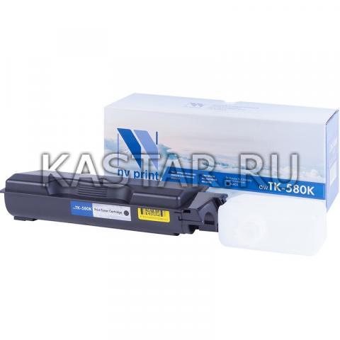 Картридж NVP совместимый NV-TK-580 Black для Kyocera  FS C5150DN | ECOSYS P6021cdn Черный (Black) 3500стр.