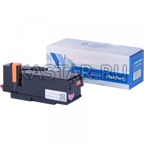 Картридж NVP совместимый NV-106R01632 Magenta для Xerox Phaser 6000 | 6010 | WorkCentre 6015 Пурпурный (Magenta) 1000стр.