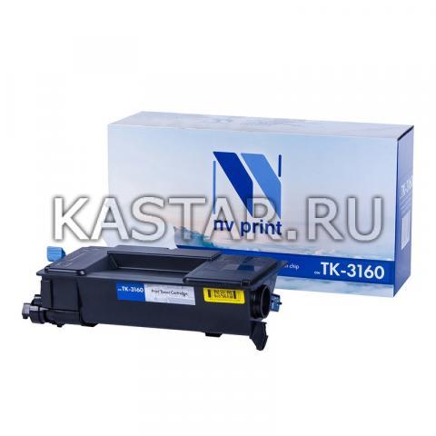Картридж NVP совместимый NV-TK-3160 для Kyocera ECOSYS P3045dn | 3050dn | 3055dn | 3060dn Черный (Black) 12500стр.