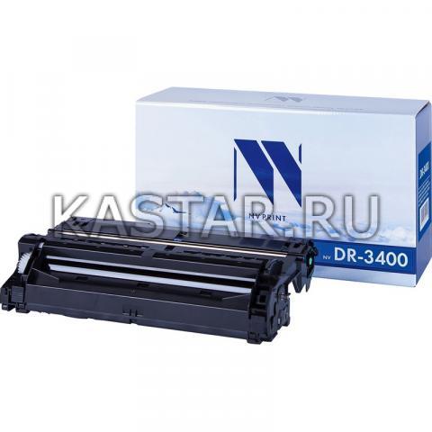 Барабан NVP совместимый NV-DR-3400 для Brother HL-L5000D   L5100DN   L5100DNT   L5200DW   L6250DN   L6300DW   L6300DWT   L6400DWT   DCP-L5500DN   L6600DW   MFC-L5700DN   L5750DW Черный (Black) 30000стр.